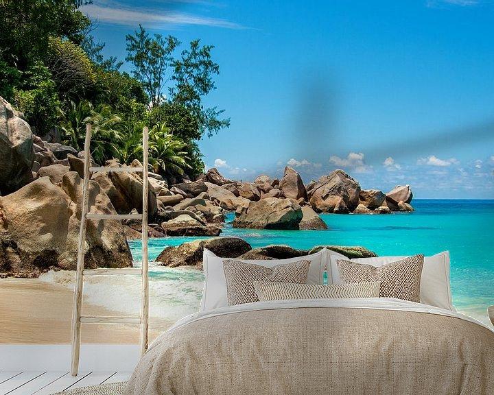 Impression: Plage de rêve Anse Georgette - Praslin - Seychelles sur Max Steinwald