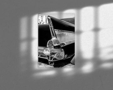Chevrolet Bel Air Black & White von Rob Smit