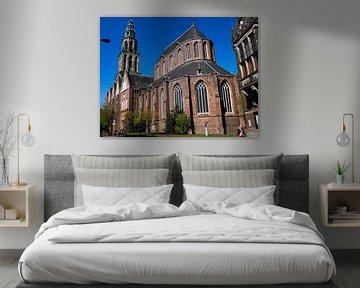 Martinikerk van achteren von Groningen Stad