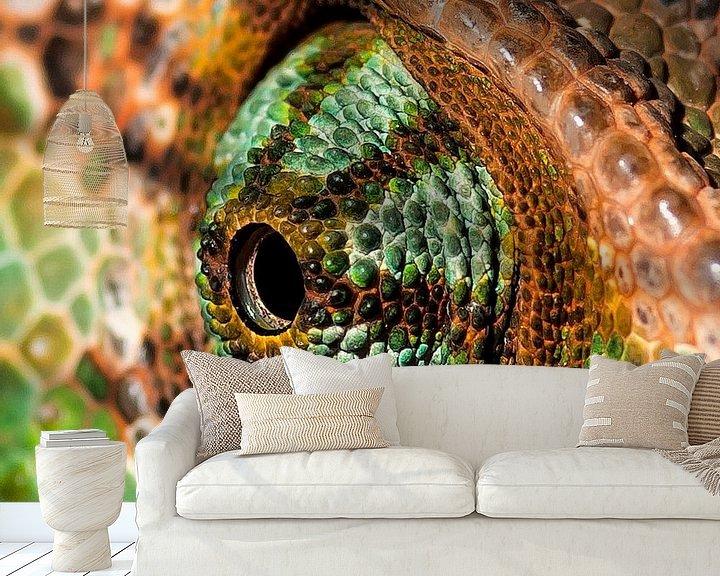 Impression: Chameleon eye. sur Rob Smit