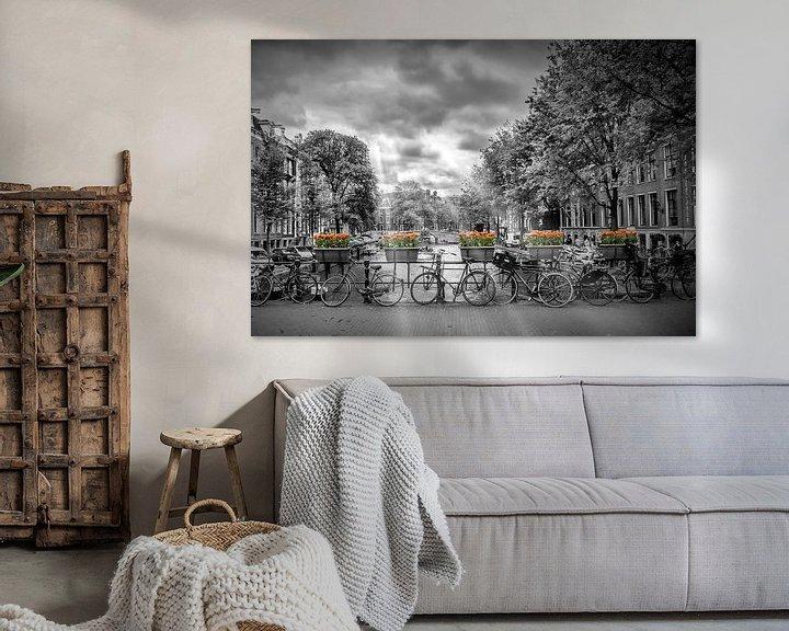 Sfeerimpressie: Herengracht Amsterdam van Melanie Viola