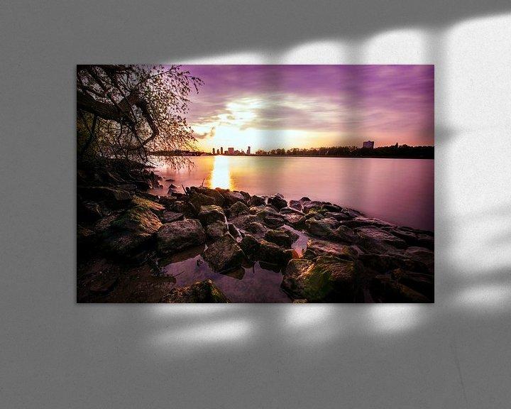 Sfeerimpressie: Rotterdam - Eiland van Brienenoord van Steven Dijkshoorn