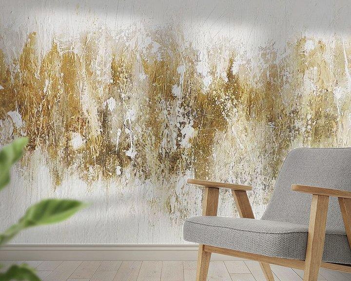 Beispiel fototapete: gold vain von Christin Lamade