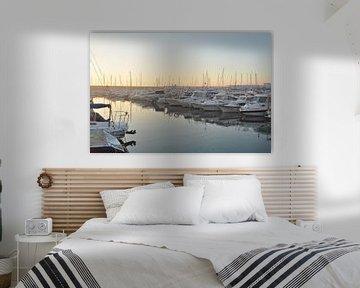 Zonsopkomst haven Altea van Ilona van der Burg