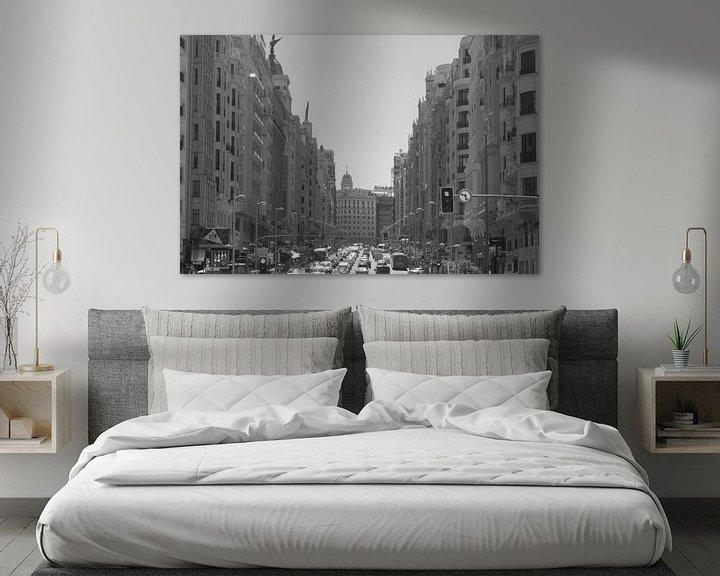 Impression: Gran Via in Madrid sur Ilona van der Burg