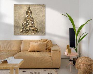 Boeddha van Alex Hiemstra