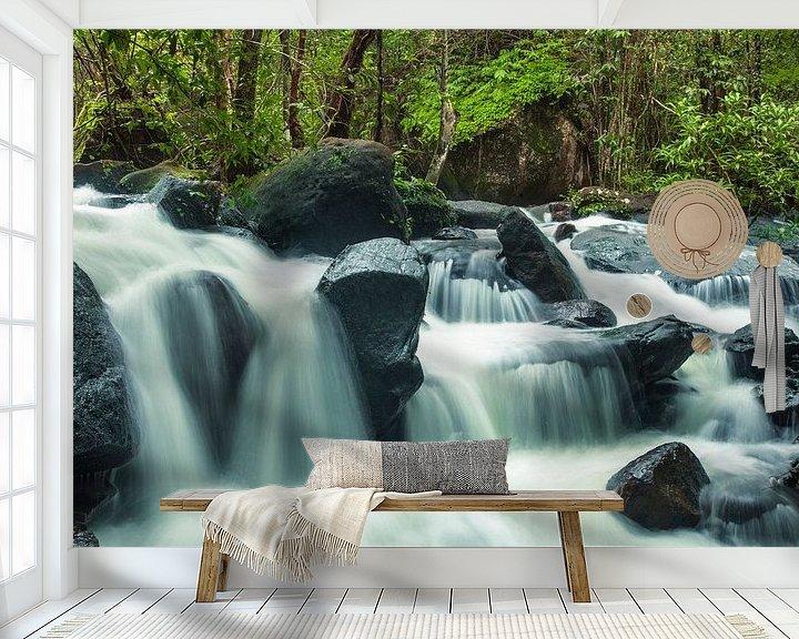 Sfeerimpressie behang: Suoi Tranh waterval van Giovanni della Primavera