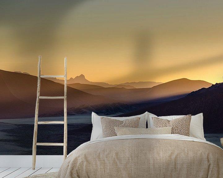 Sfeerimpressie behang: Woestijn ontwaakt van Peter Vruggink