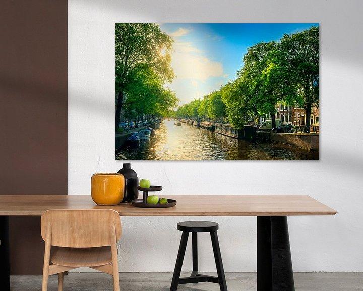Sfeerimpressie: Zomers Amsterdam van Martijn Kort